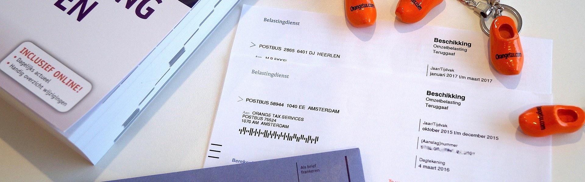 Declaración del impuesto en Holanda